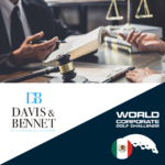 Davis & Bennet  sponsor oficial del World Corporate Golf Challenge México